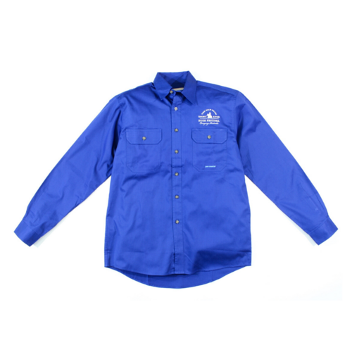 Mens Evan Shirt - Cobalt