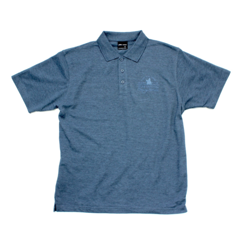 Mens Polo - Denim Marle
