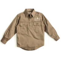 Boys Lachlan Shirt - Brown