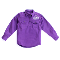Girls Kenzie Shirt - Purple