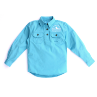 Girls Kenzie Shirt - Sky