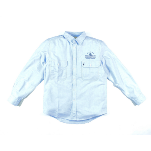 Mens Chambray Dress Shirt