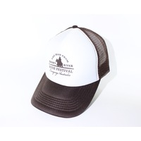 Trucker Cap - White/Brown
