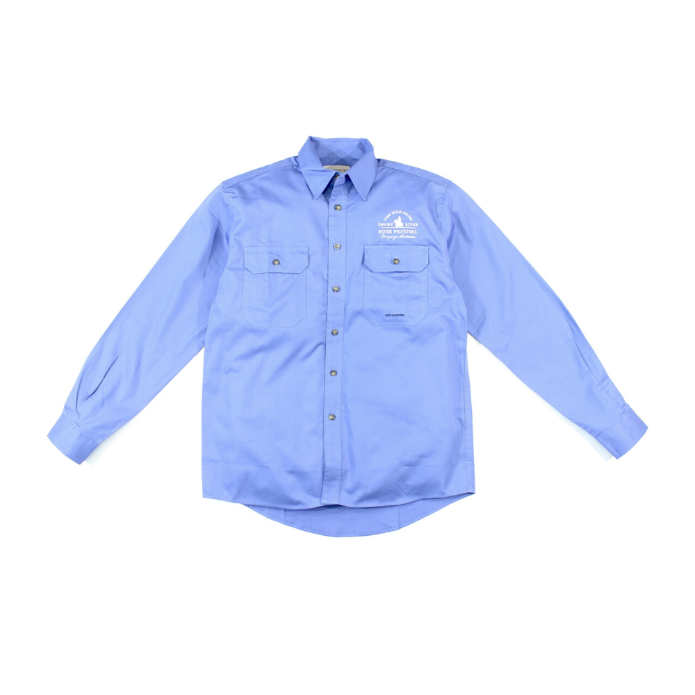 Mens Evan Shirt - Blue