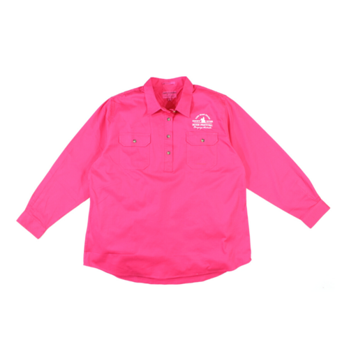 Womens Jahna Shirt - Rasberry