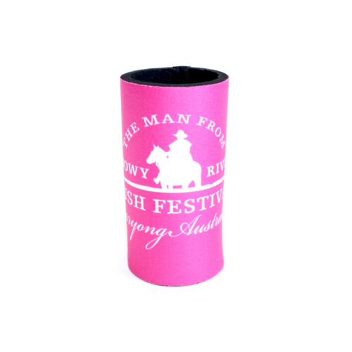 Slim Stubby Holder - Hot Pink