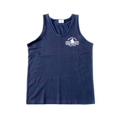 Mens Trainer Singlet - Navy